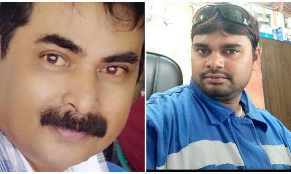 Pranab Kumar Gogoi and his colleague Ram Kumar