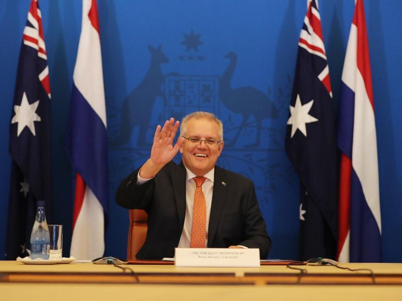 Australian PM says ban on citizens returning from India 'in best interests'
