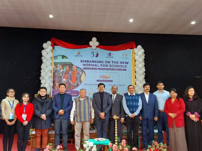 Project 'Udbhav' was launched in 10 schools of Sikkim