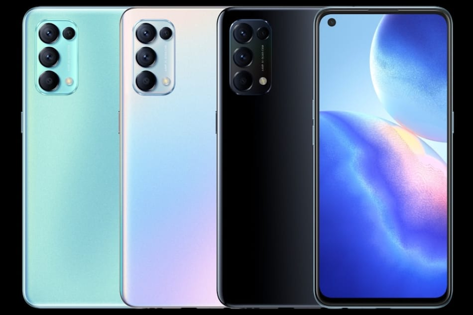 Oppo Reno 5K with Snapdragon 750G SoC, quad rear cameras