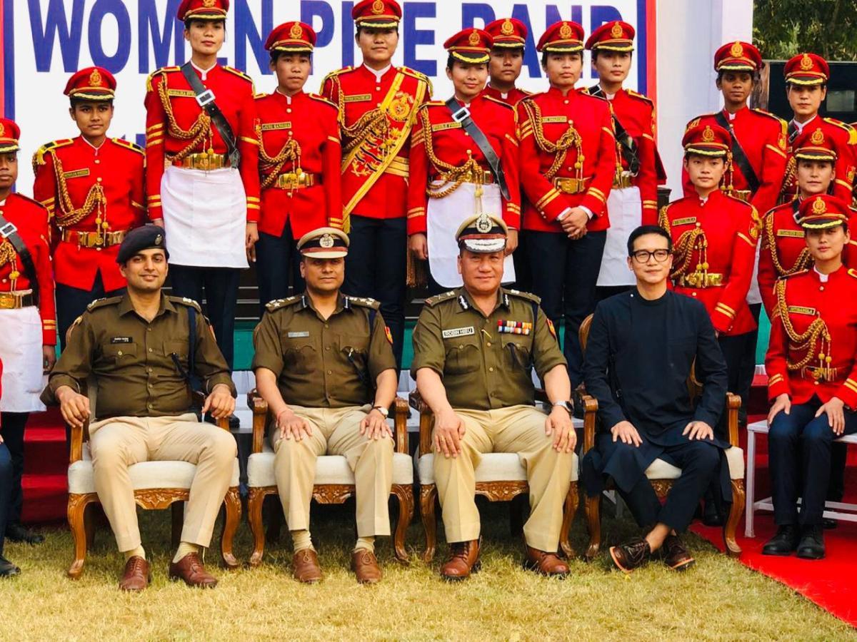 Jenjum Gadi Delhi Police Women's Band