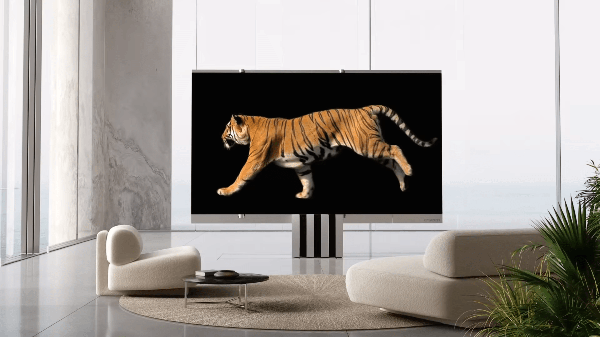C Seed's giant 165-inch M1 TV