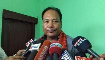 Rajya Sabha MP Biswajeet Daimary