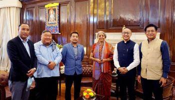 Nagaland legislators along with Finance minister