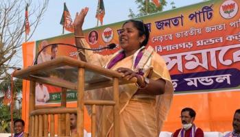 Tripura MP Pratima Bhoumik demands women's university, hospitals in Lok Sabha