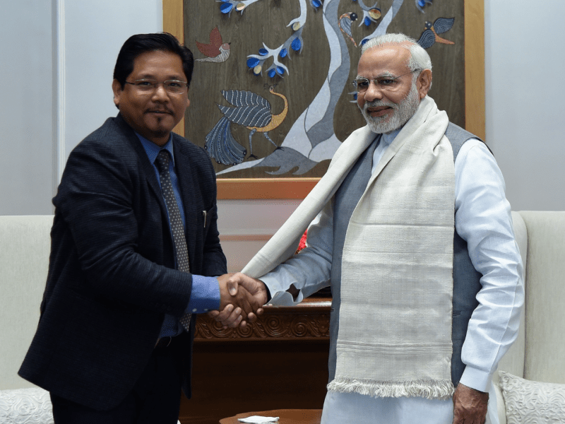 PM Modi invited to Meghalaya's 50th statehood day next year