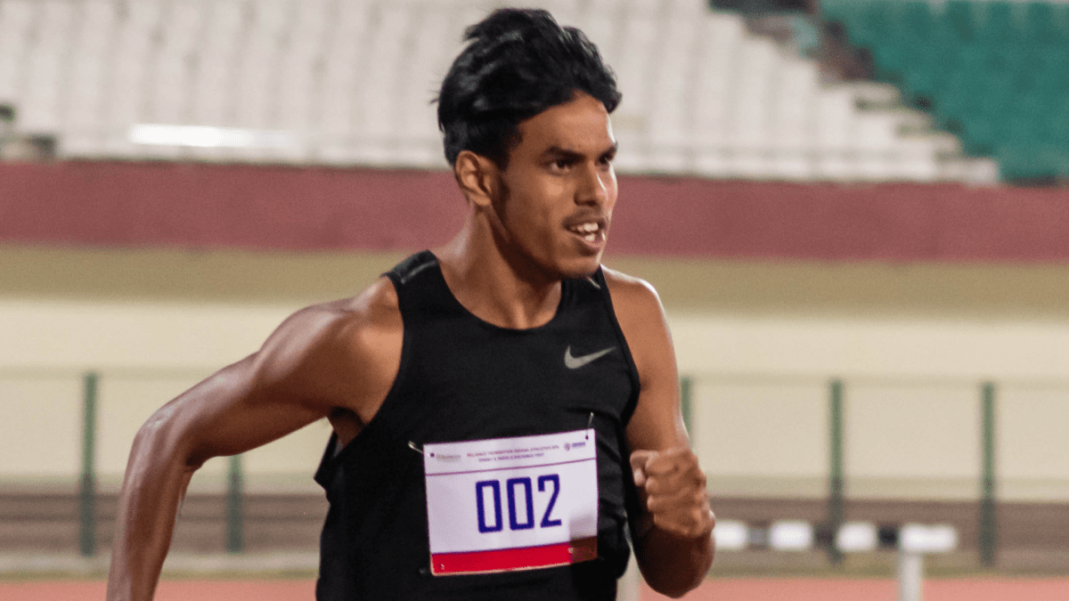 With 2 personal bests, sprinter Amlan Borgohain reaches new heights