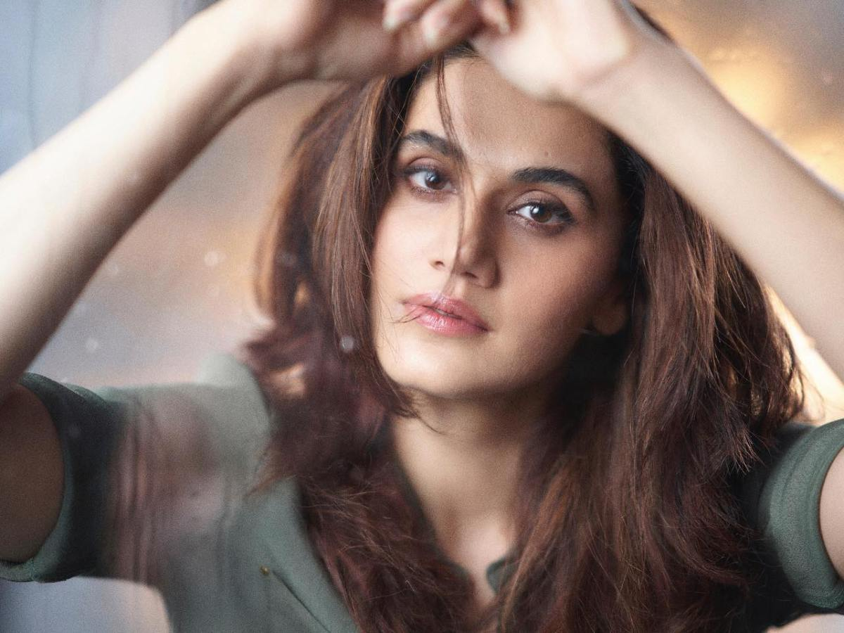 Taapsee Panu bats for sustainable fashion in 'Mishan Impossible'