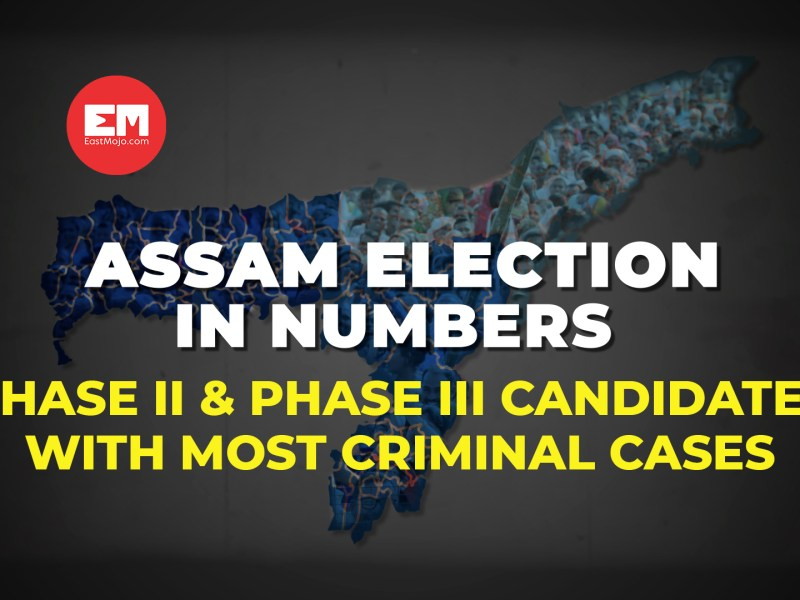 Assam Election in Numbers: 2nd and 3rd phase candidates with most criminal cases