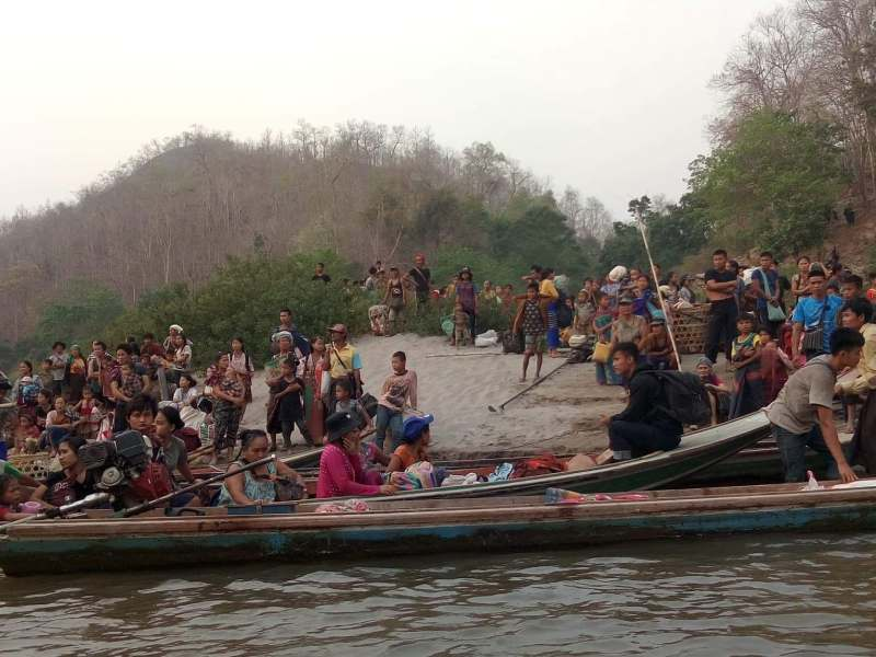 myanmar Refugees from Karen