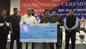 Surrenderd militant Manipur