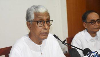 CPIM leader Manik Sarkar
