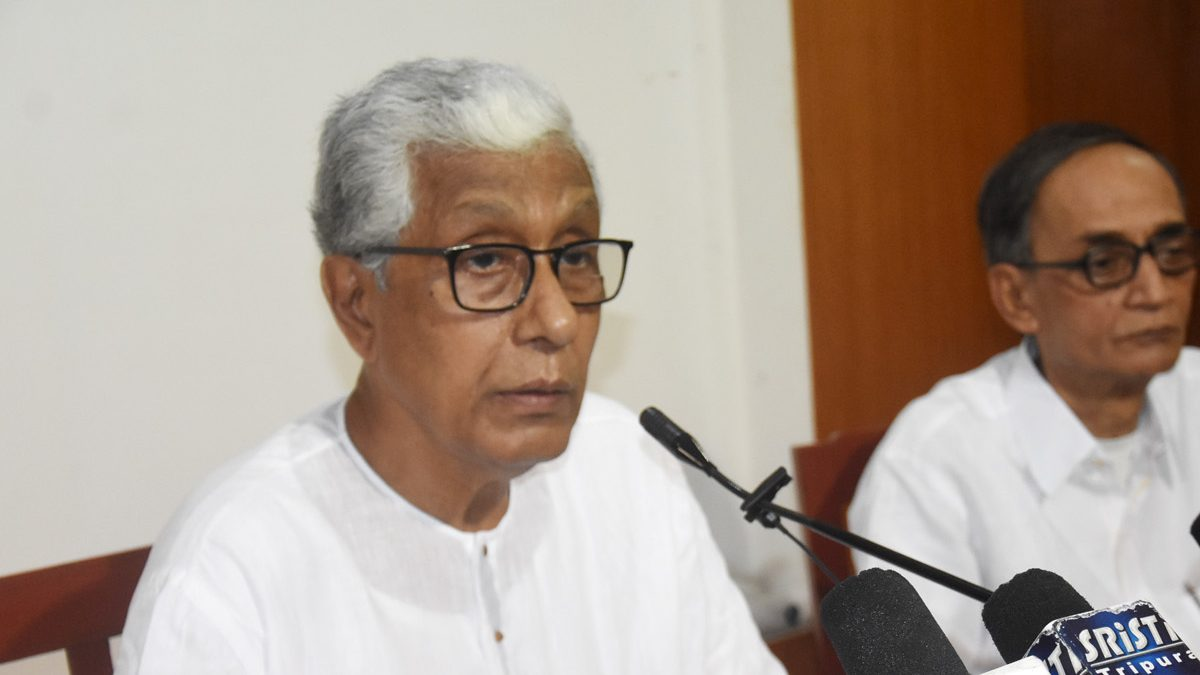 Law minister refutes Ex-CM Manik Sarkar's statement of outsourcing govt staff