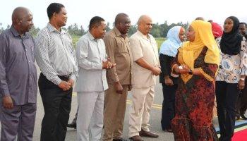 Tanzania's first female president