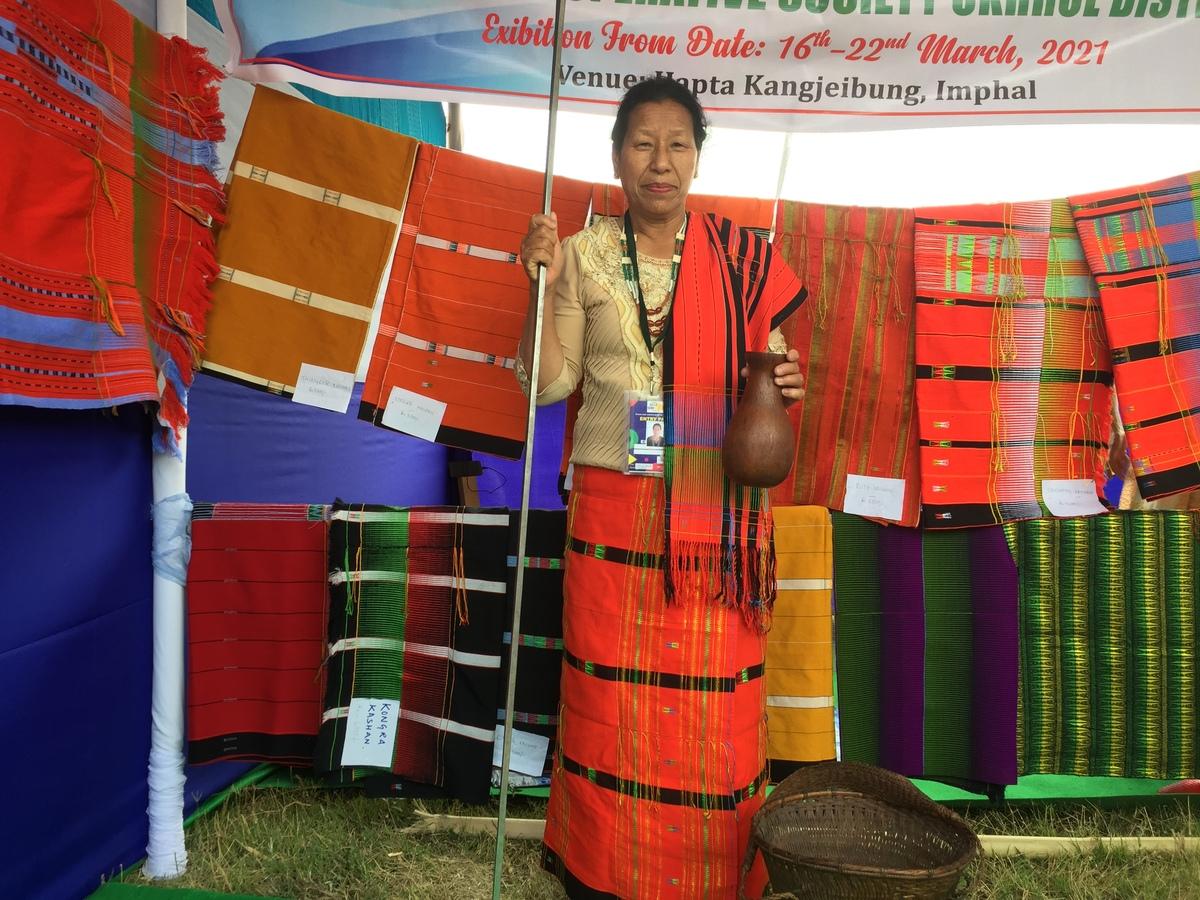 manipuri weaver