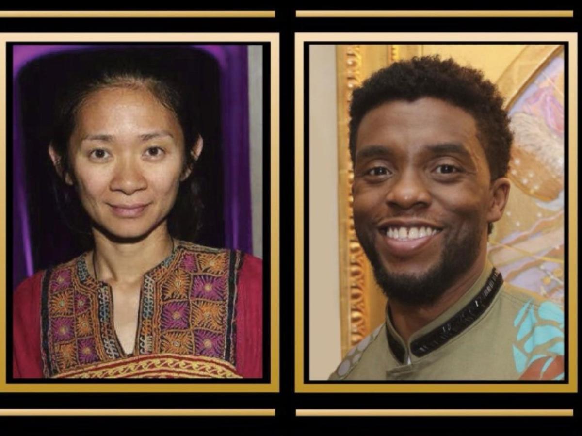 Golden Globes Chadwick Boseman Nomadland