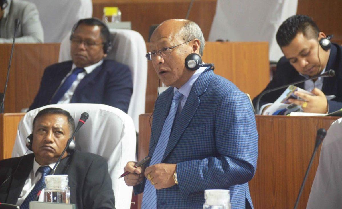 Deputy chief minister Prestone Tynsong