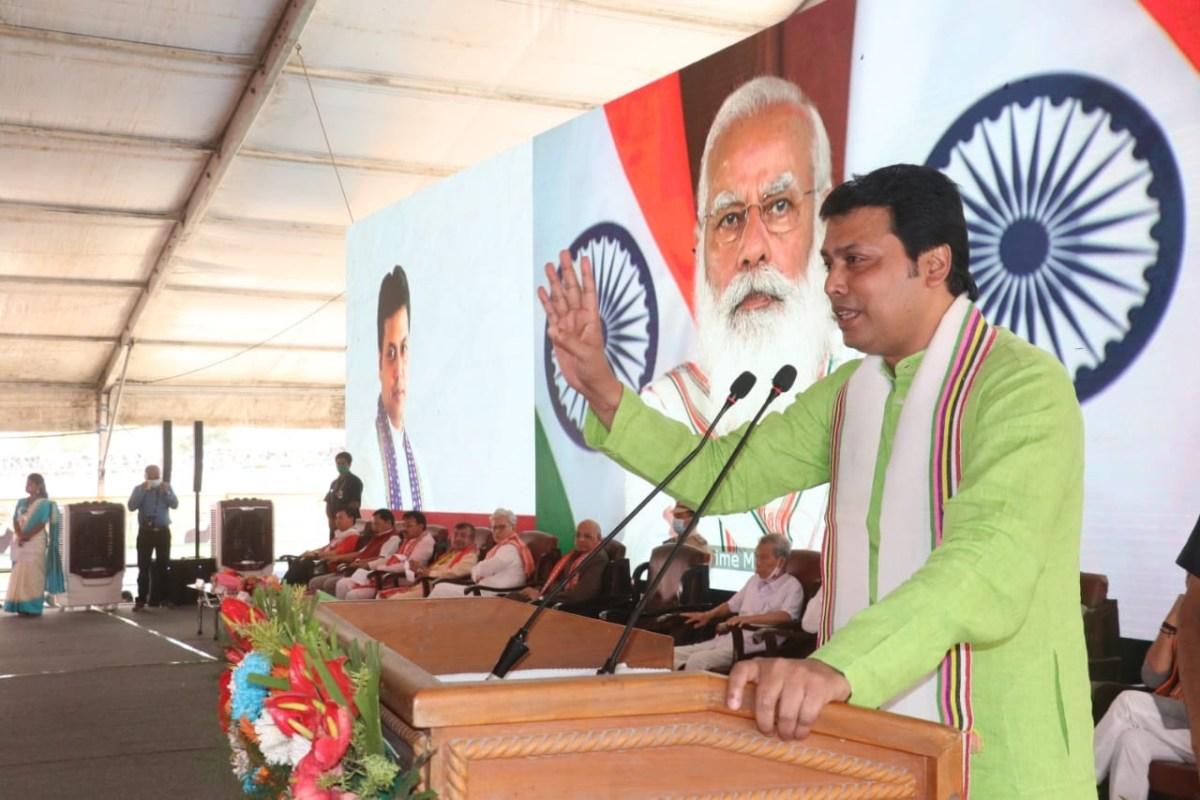 Tripura CM lied