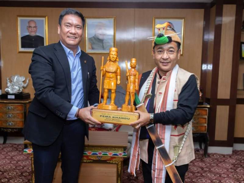 Sikkim, Arunachal to work together for tourism and organic farming