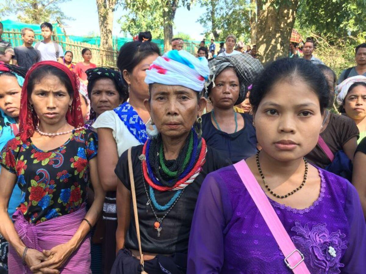 Bru resettlement in Tripura