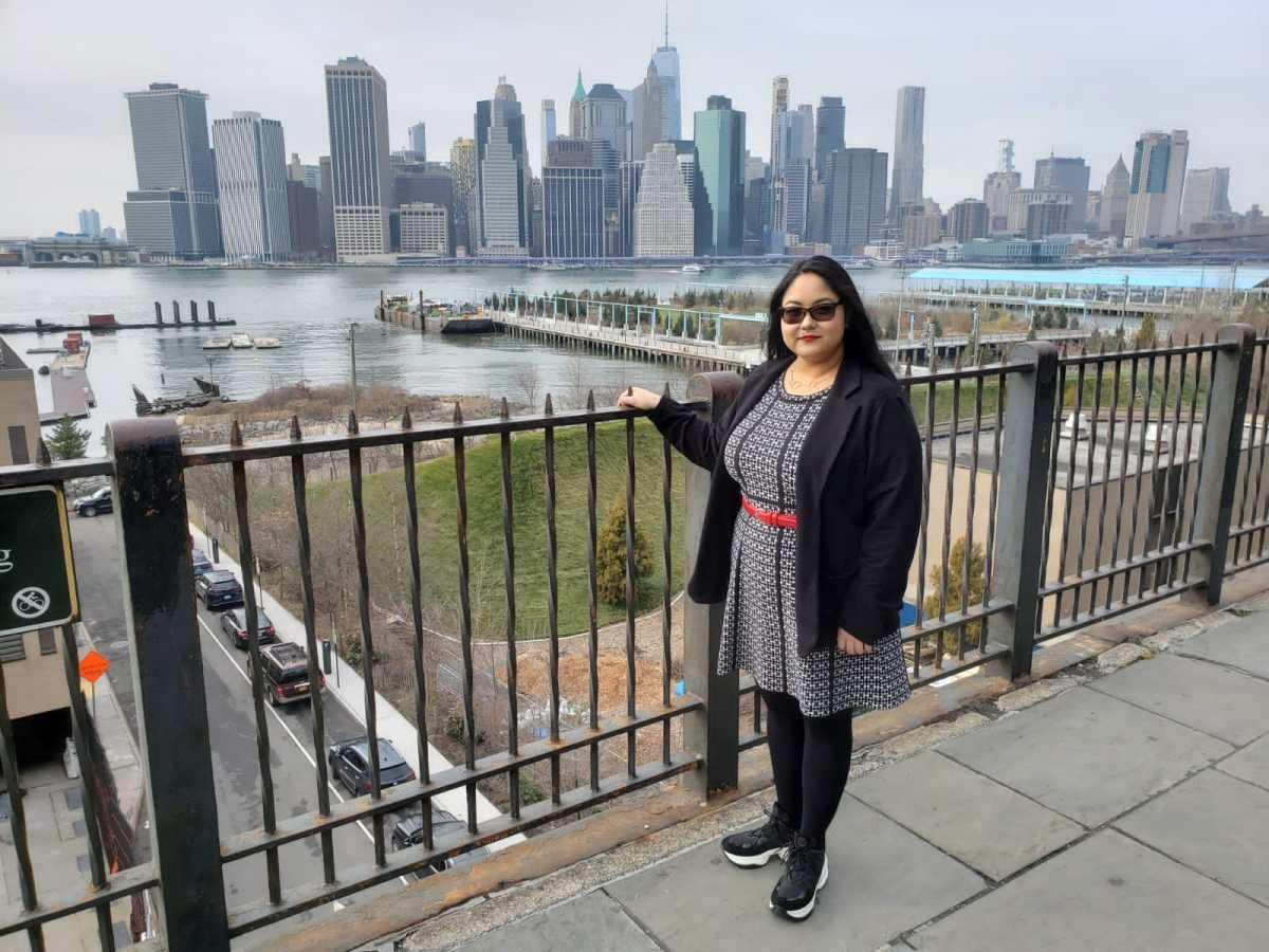 Dominica Jamir in NYC