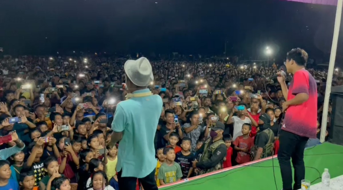 Election rally in Meghalaya turns into concert