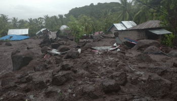 Over 128 dead, Indonesian rescuers dig for people buried in landslides