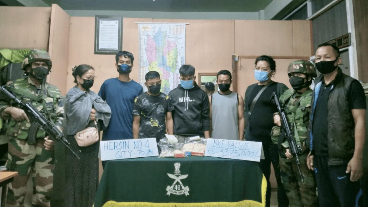 Mizoram: Assam Rifles and state officials seize huge cache of narcotics
