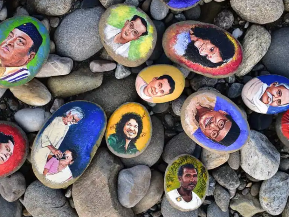 World Creativity and Innovation Day: An interview with India book of record holder for stone painting