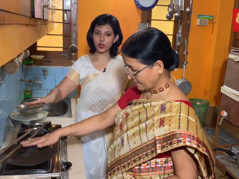 Watch: Celebrate Bihu by learning how to make Pitha!