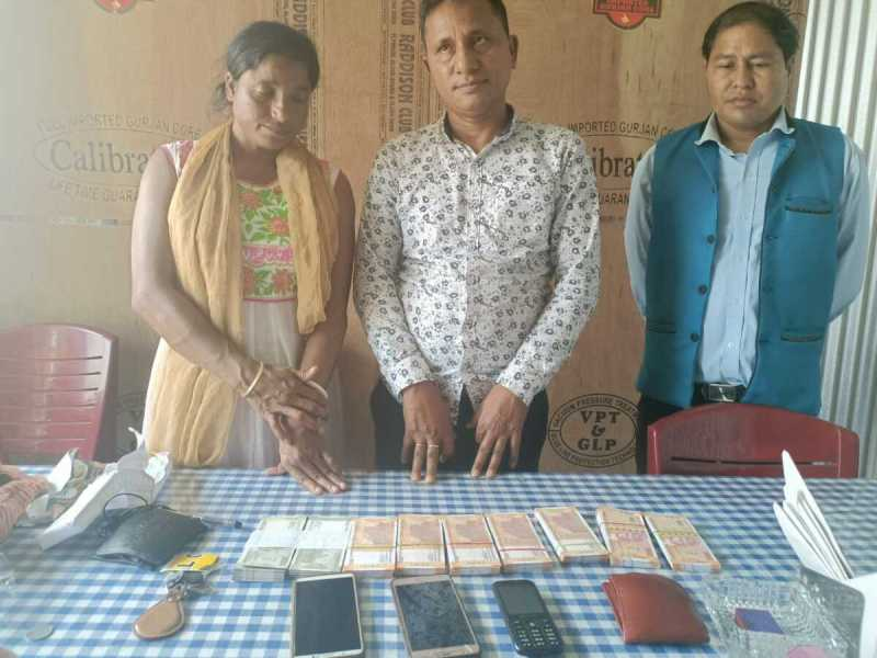 3 persons, including a woman, arrested with fake Indian currency notes amounting to over Rs 26 lakh from Chabua in Assam's Dibrugarh district