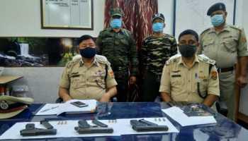 Tripura NLFT cadres surrender