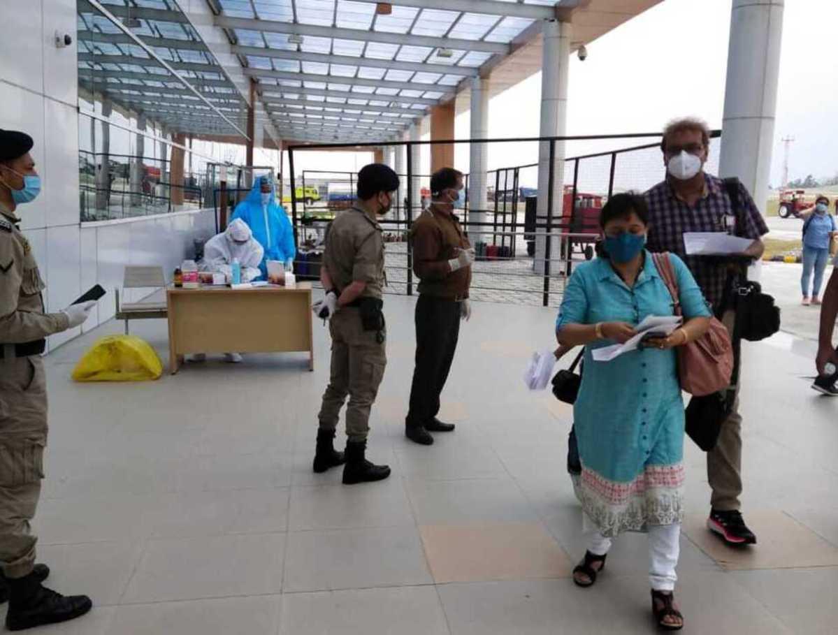 COVID-19 RAT testing in Sikkim
