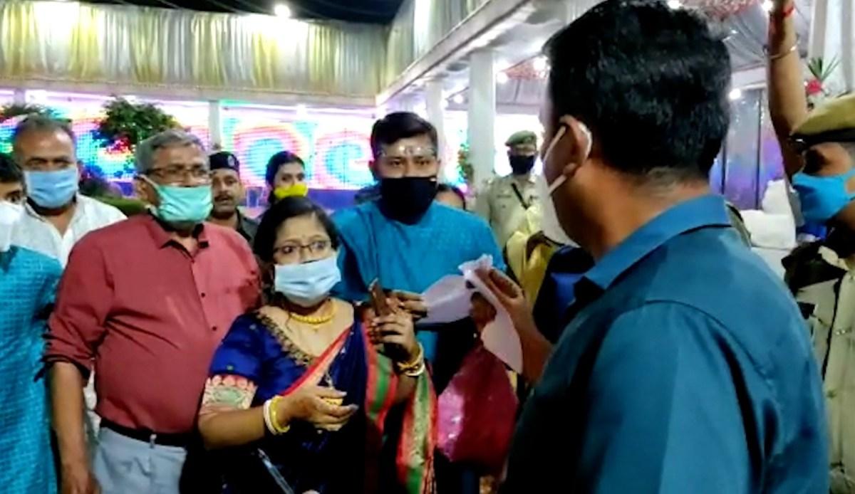 Tripura west DM faces backlash after thrashing groom
