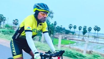 Army officer breaks two Guinness World Records for fastest solo cycling