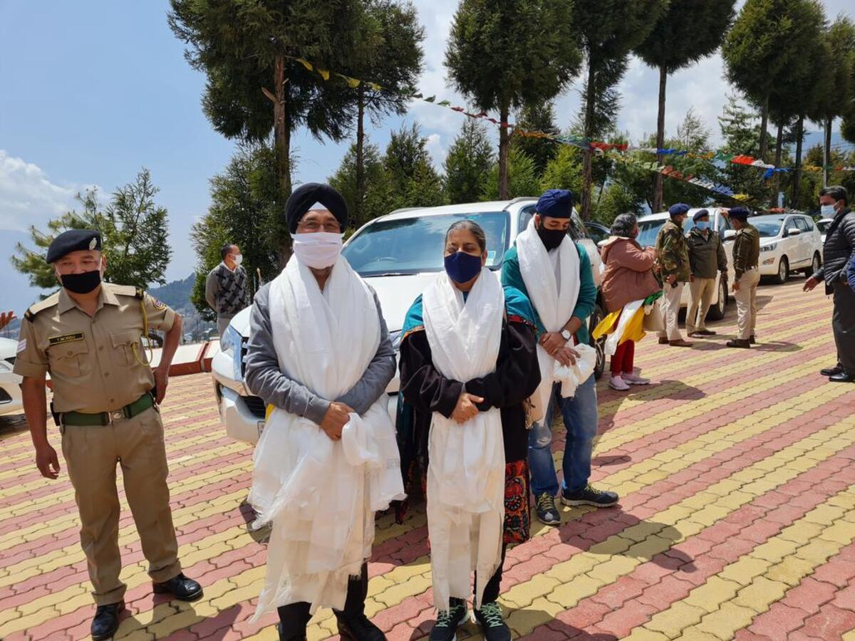 DoNER secretary Inder Jit Singh in Arunachal Pradesh