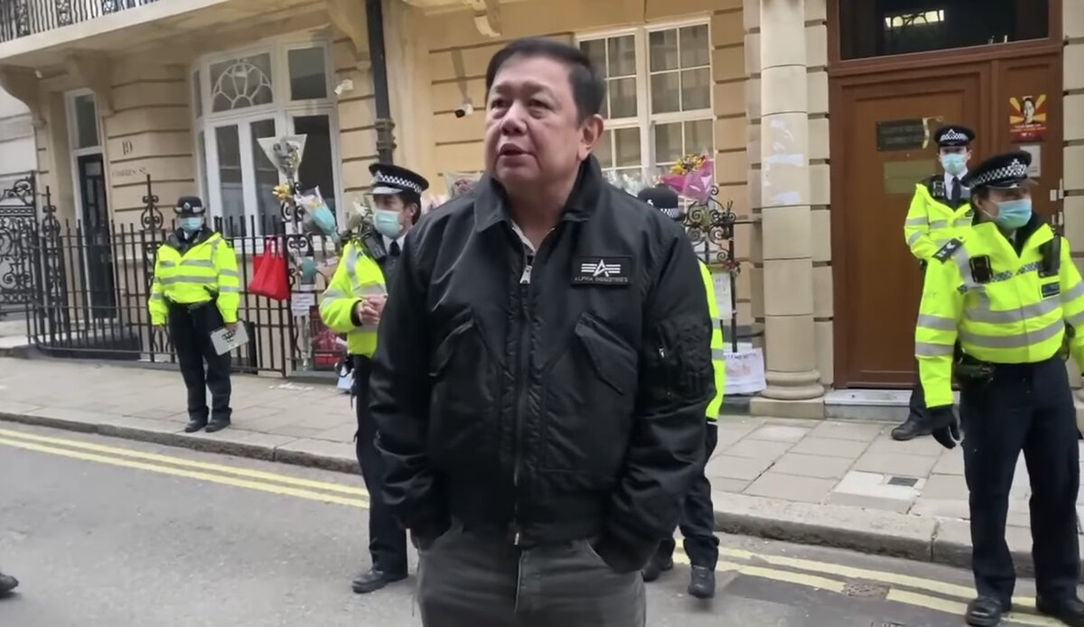 Myanmar ambassador locked out