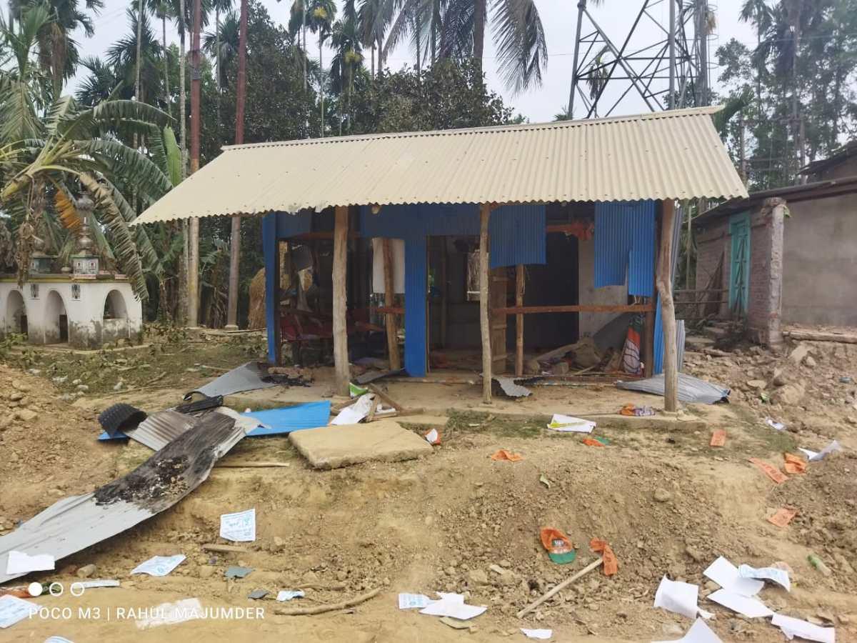 BJP on Tripura post-poll violence