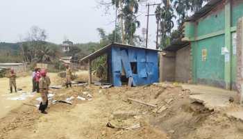 tripura tribal council poll violence