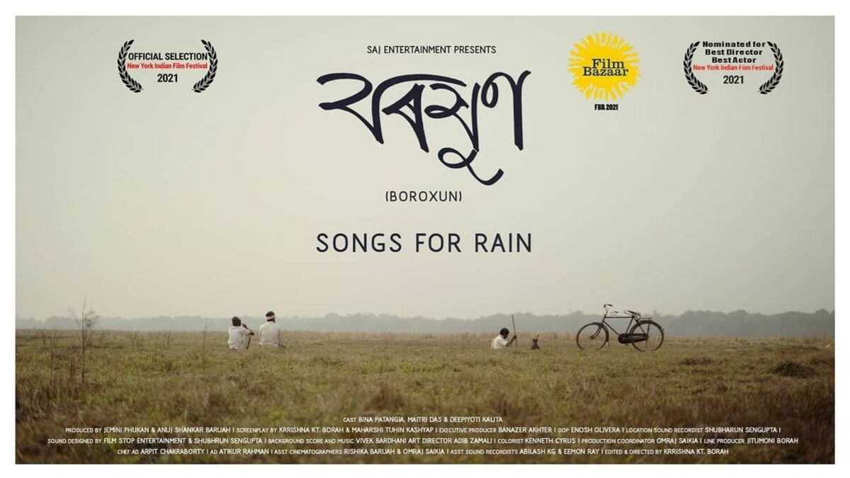 Boroxun: Songs for Rain