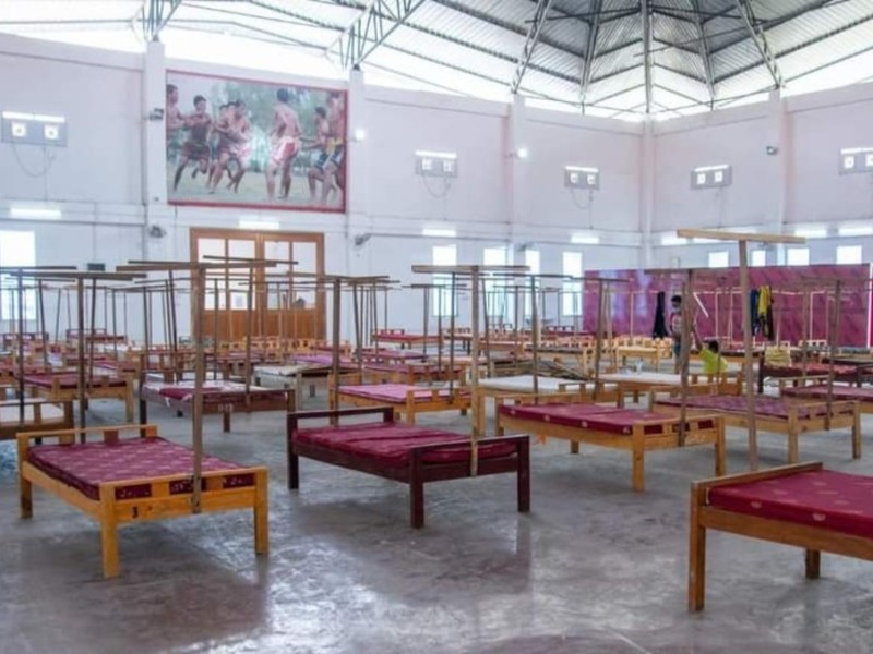 Manipur govt to open 600-bed COVID-19 care centre in Imphal