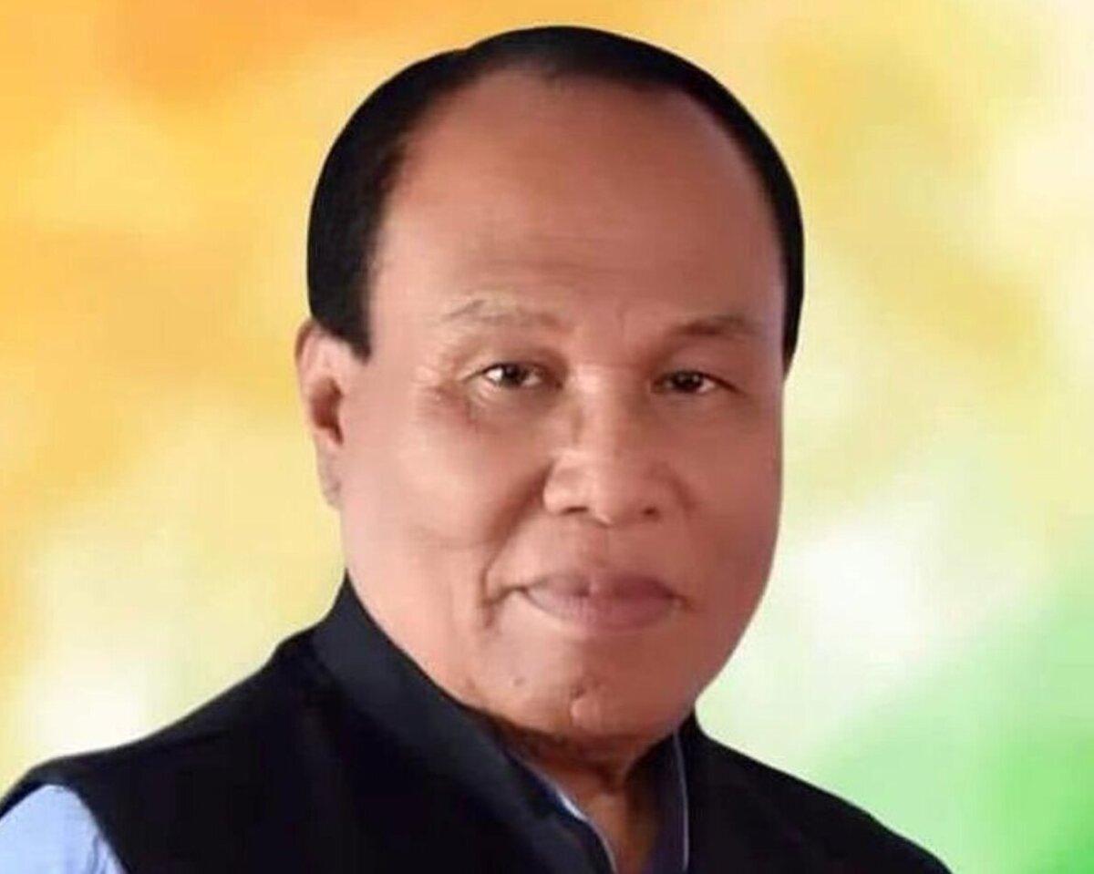 Manipur BJP president Saikhom Tikendra Singh
