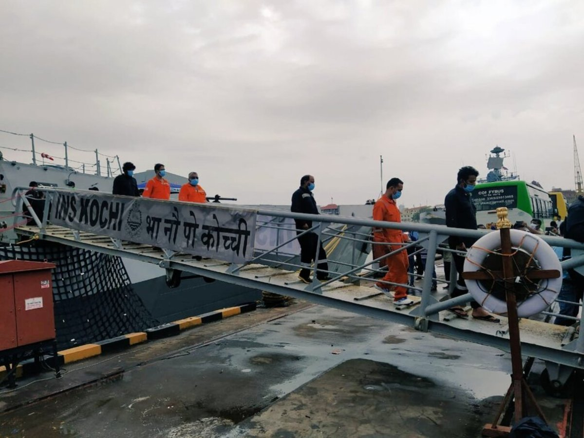 51 dead, 24 from barge P305 missing; Navy continues search