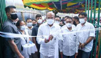 Manipur CM inaugurates PSA oxygen plant in Churachandpur