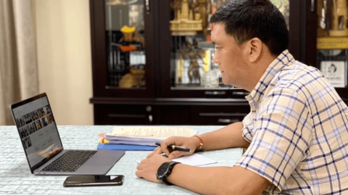 Arunachal: CM Khandu holds virtual Cabinet meeting to discuss state issues