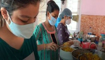 Watch: Guwahati's Hahaijyo supports COVID-19 patients, one meal at a time