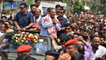 Opposition Congress, AIUDF greet Assam CM-elect Himanta Biswa Sarma