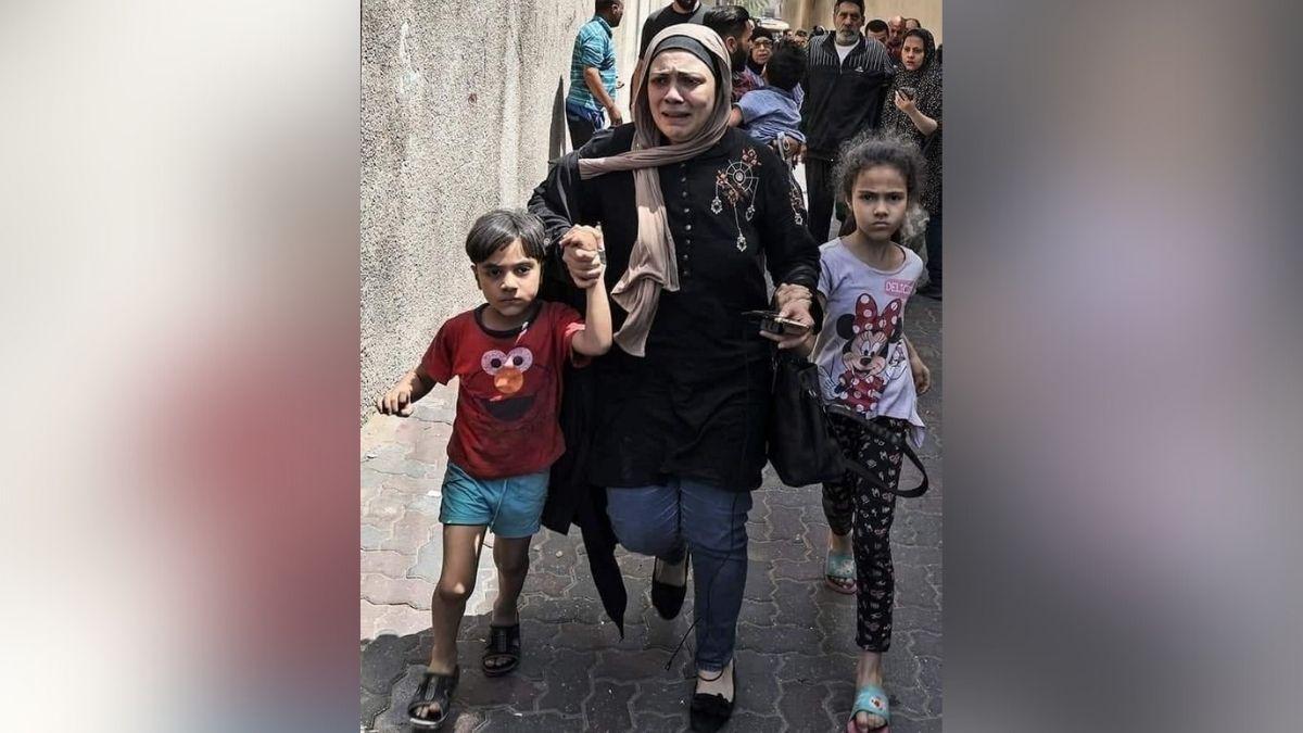 PalDeaths rise as Palestinians flee heavy Israeli fire in Gazaestinians flee