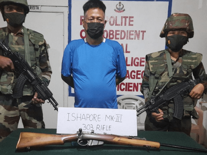 Mizoram: Assam Rifles and Mizoram police recover arms in joint operation