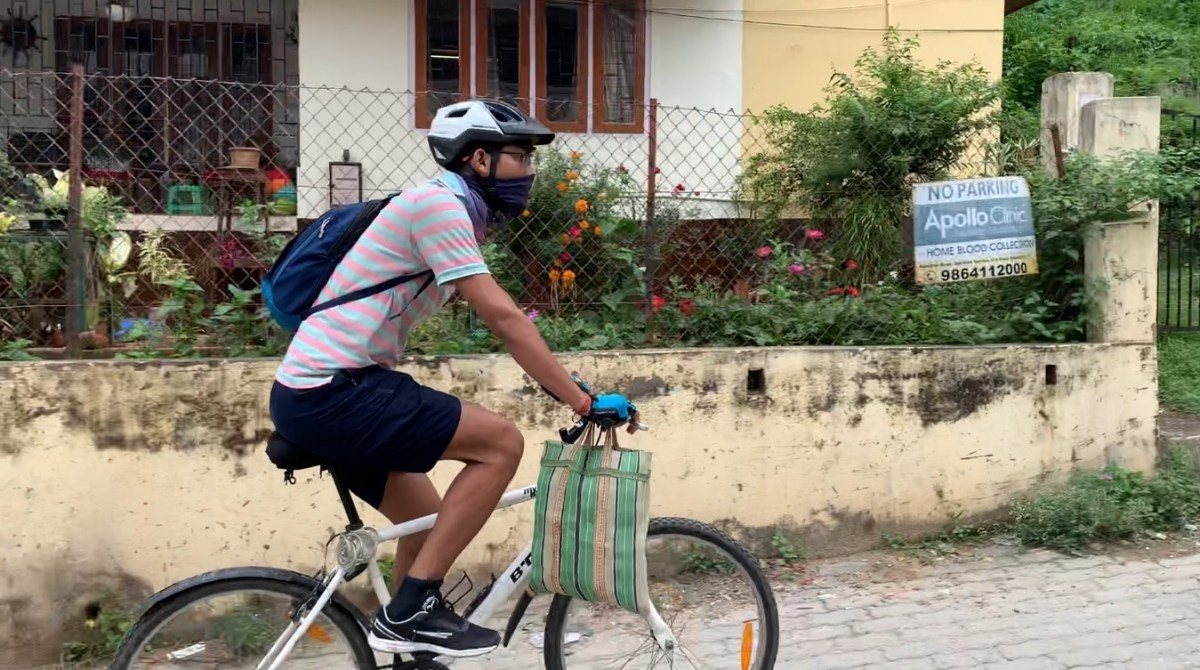 Guwahati cyclists come forward to help people fight COVID-19